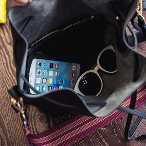 zenleather Bags - NEW MARSEILLE Drawstring Bucket Bag